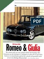 Auto Klassik Alfa Giulia