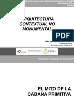 J. M. Sarmiento Arquitectura contextual no monumental