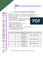ACTA DE CALIBRACION SANTA RITA 2