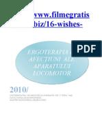 proiect ergoterapie
