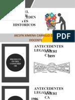 ANTECEDENTES HISTORICOS Y NORMATIVOS
