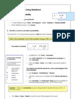 StatsDirect Instructions 2009