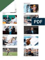 ejemplos de empleos