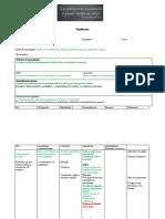 Formato de Planificación