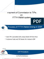 FTTH Commission Payment Process