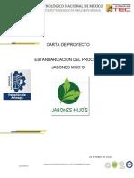 Carta de Proyecto Jabon