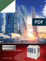 Catalogue Điều hòa trung tâm SMMS VRF – Toshiba