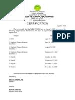 certifofimmunization