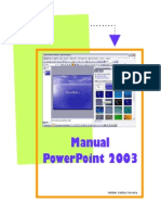 Microsoft Power Point 2003