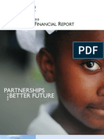 Usaid Financial Report FY2010