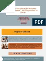CLASE#1 Y 2 CONCEPTOS BÁSICOS DE NUTRICIÓN