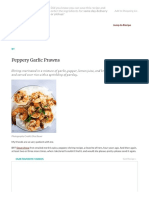 Peppery Garlic Prawns Recipe _ SimplyRecipes.com