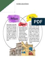 Actividad en clase de Historia-CLV(3)-Cuadro comparativo de del Arte Románico y Gótico