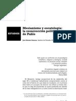 Mesianismo y escatologia Jose Antonio Zamora