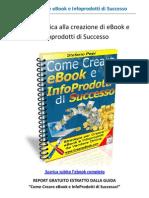 CREARE EBOOK - Report Gratuito