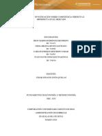 Act 09) Investigación Sobre Competencia Perfecta e Imperfecta en El Mercado