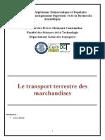 page-de-garde Génie des transports