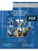 TWI Egypt Training Examination Services