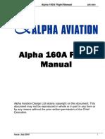 Alpha 160A Rev 2 July 2016 AFM/POH