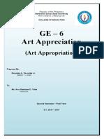 ART APPROPRIATION 2