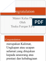 Congratulation kelas IX.pptx