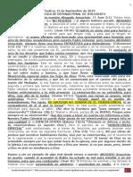 PREDICA L. (15Septiembre 2019) ESTRATEGIA DE DEFENSA PENAL DE JESUCRISTO