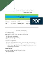 Weekly Plan of Strategic Marketing.docx