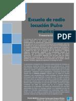 Presentacion esucela de radio locucion Pulso musical