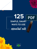 125+ Ways to Use Essential Oils