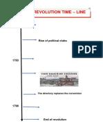 french revolution revision sheet