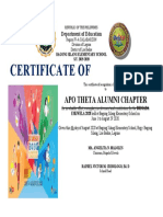 APO brigada certificates 2020