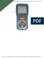 Testeur de terre à piquets, le SIOUX 5300 pour la mesure de la résistance, de tension et de faibles impédances - Instrument de mesure environnementale à Paris - TEC Instruments