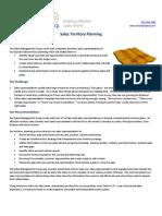 Sales Territory Planning