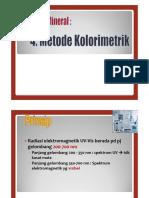 Analisis Mineral Metode Kolorimetri dan AAS 2