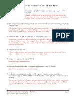 9- Questionamentos - Os Sete Raios