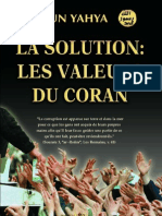 Harun Yahya - French - La Solution Les Valeurs Du Coran