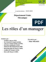 Rapport-Les-roles-du-manager