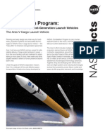 NASA Facts Constellation Program The Ares V Cargo Launch Vehicle 2009