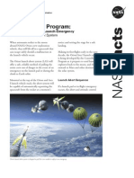 NASA Facts Constellation Program The Orion Launch Abort System