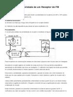 Medindo a Sensibilidade de um Receptor de FM (INS086)