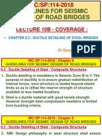 Lecture 10(b) - Dr S K Garg on Ductile Detailing of Steel Bridges