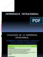 HEMORRAGIA INTRACRANEAL