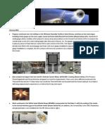 Orion Crew Exploration Vehicle Project Milestones