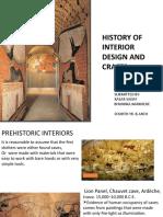 HISTORY OF INTERIOR DESIGN & CRAFTS