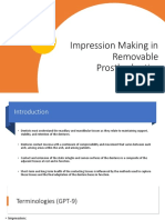 Impression Making in Complete Dentures by Dr. Tanay
