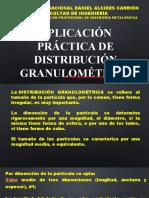 Aplicación Práctica de Distribución Granulométrica