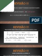 AULA 4 - Revisão !!! PDF