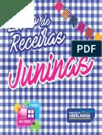 livro receitas Cultura em Casa junino