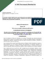 Resolución 4849 de 2011 Secretaría Distrital de Ambiente.pdf