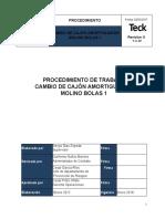 CAMBIO DE CAJON AMORTIGUADOR MOLINO BOLAS 1